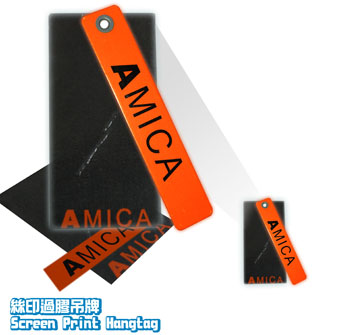 Logo-Screen print hangtag