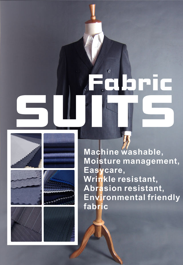 Fabric-60% polyester-20% rayon-20% wool-Wool poly blend suits fabric-20110706