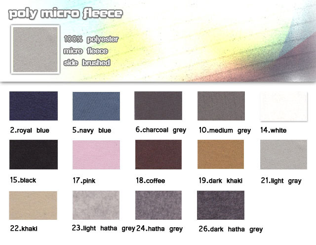 Fabric-100%-polyester-micro fleece sides brushed-poly micro fleece -20100330