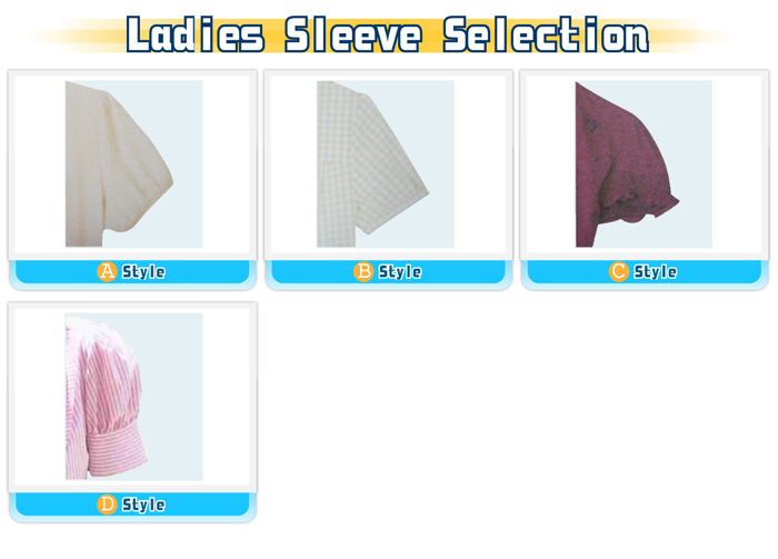 Design options-ladies sleeve selection-shirts-20100614_igift