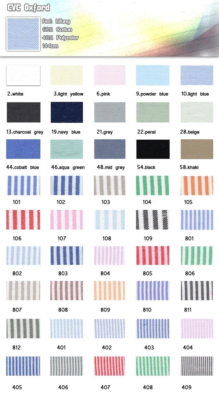 Fabric-CVC Oxford-60% cotton-40% polyester-144cm-20110714