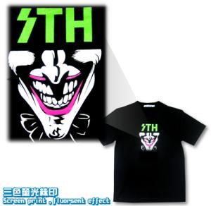 Logo-三色瑩光印花-Tee_igift