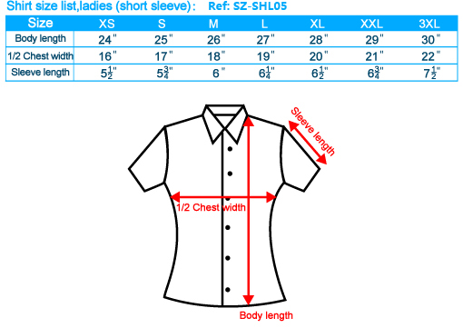 size-list-shirt-female-short-sleeve-20110803