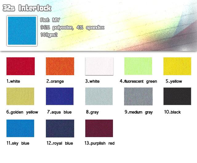 Fabric-96% polyester-4% spandex-140gm2-31s lnterlock-20110323