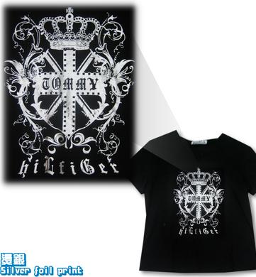 Logo-Silver-Foil-t恤衫_igift