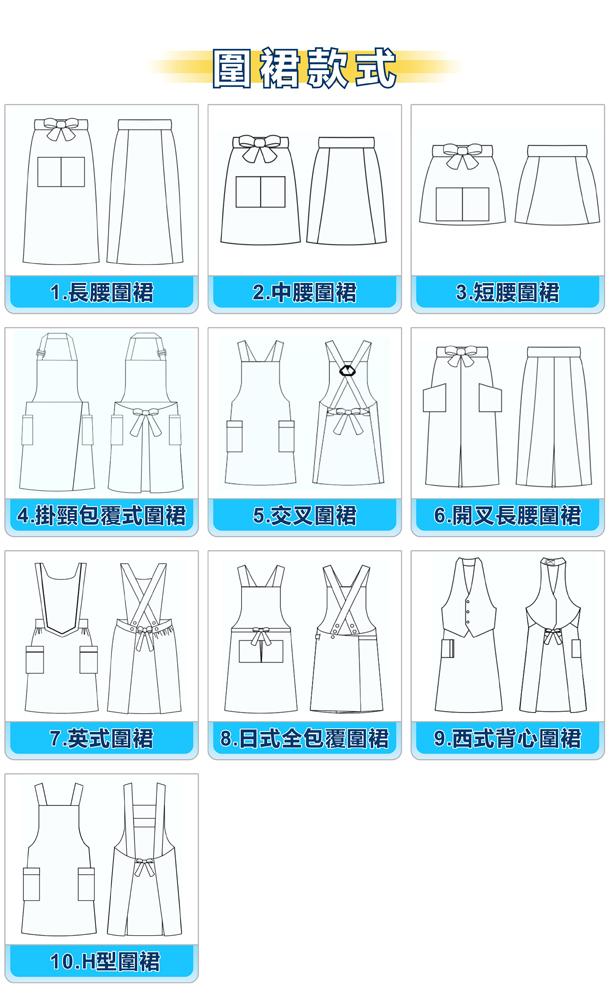 圍裙款式(中)_igift
