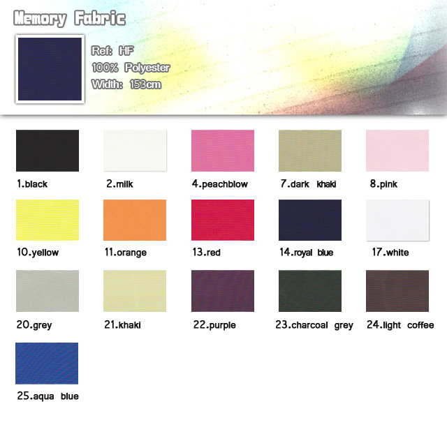 Fabric-100% polyester-width 153cm-Memory Fabric-20110705