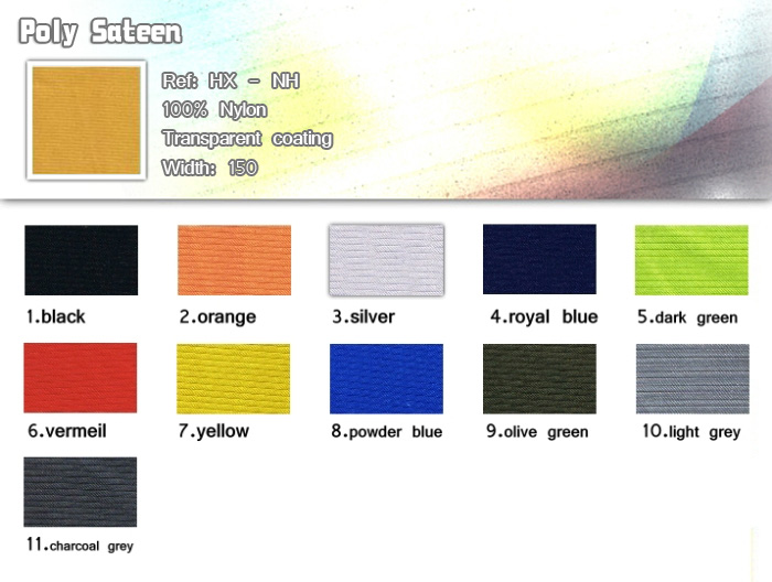 fabric-100% nylon-poly sateen-20121224