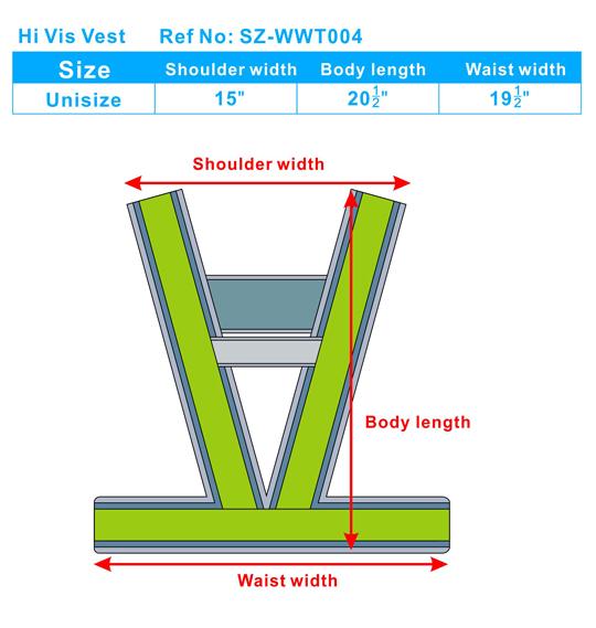 Hi Vis Vest WWT004