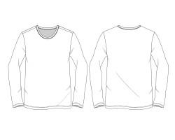 t 恤 版 型 ai