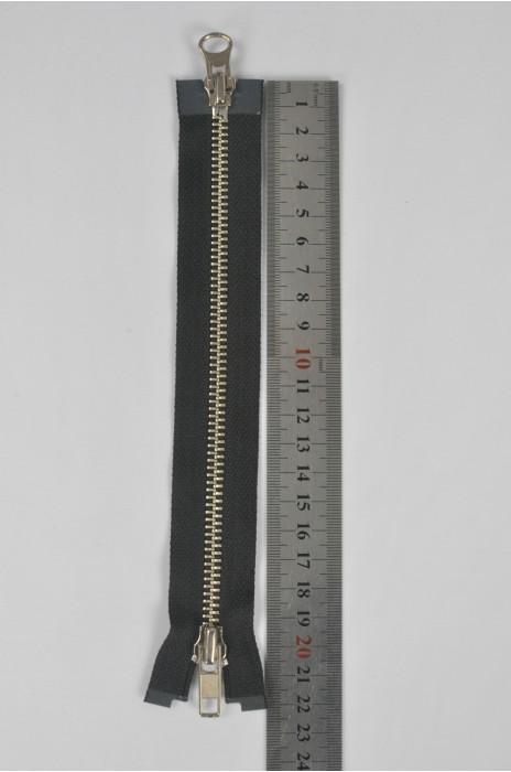 ZIP046  5號拉鏈  開尾拉鏈  金屬銀色拉鏈 雙頭拉鏈  不設單獨拉鍊訂購