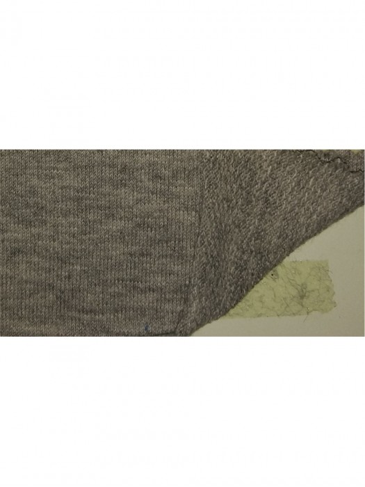 FJ-FRFE  DH-685  FRENCH TERRY 96%cotton 4%spandex grey hearther  67''/214GSM
