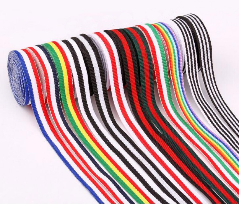 FJ  三色織帶  平紋織帶  獎牌織帶   三色織帶