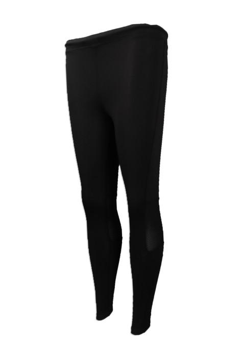 TF063 團體訂做緊身運動長褲 設計緊身運動褲 訂造緊身運動褲供應商