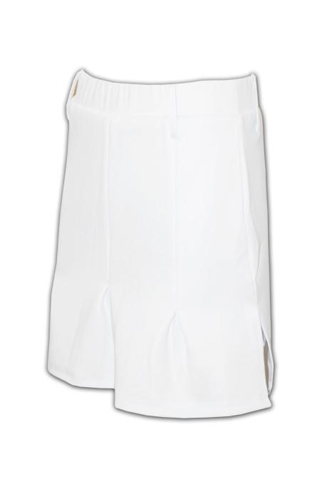 US002 純色西裙 買工作服裝 制服公司 制服訂造店