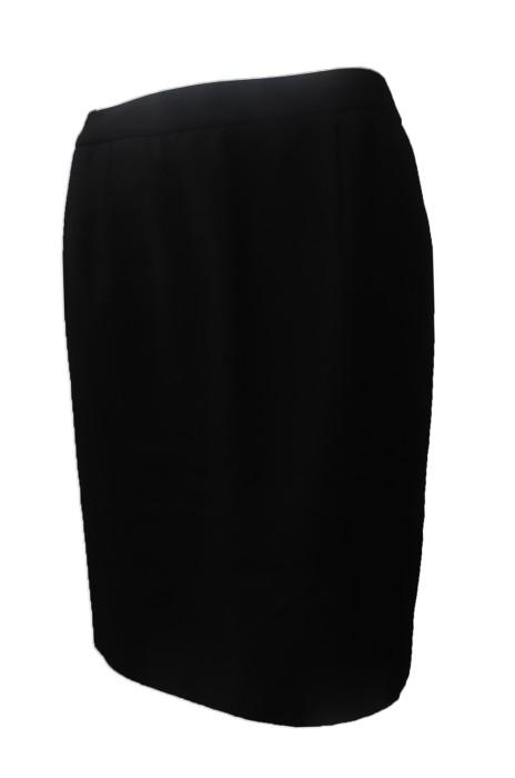 US008 來樣訂做西裙 專業訂做女士職業西裙 澳門 勵庭酒店 設計女西裙製造商