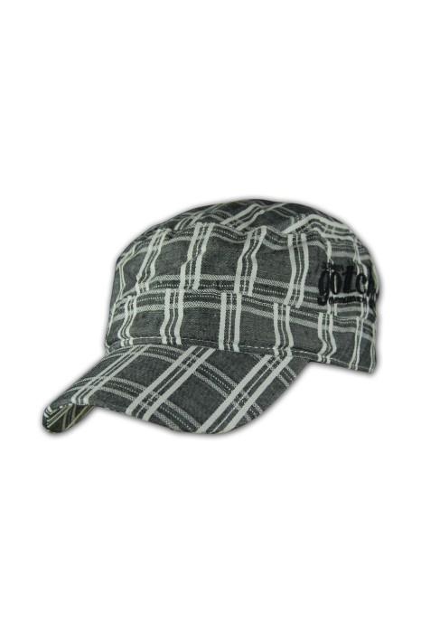HA193時裝帽訂造 平頂帽供應商 香港專門店 時裝帽批發