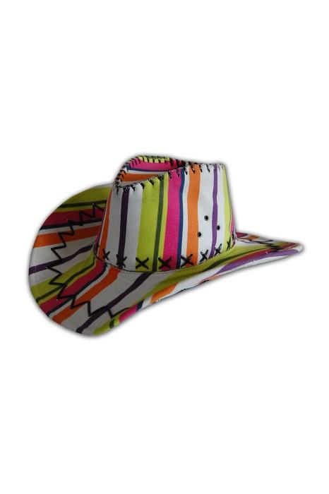 HA084 牛仔禮帽訂造 牛仔禮帽製作 牛仔禮帽供應商hk