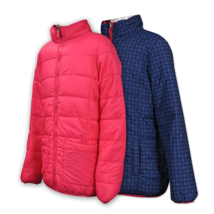 J560訂製童裝風樓外套   製作兩面穿風樓外套   自訂風樓外套款式    雙面褸 風樓外套製衣廠 雪褸