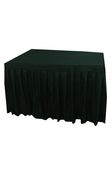TBC044 大量訂造餐桌枱套 網上下單簽到枱套   枱套製造商 有裙腳 130cm*100cm*75cm  德望小學  100%滌