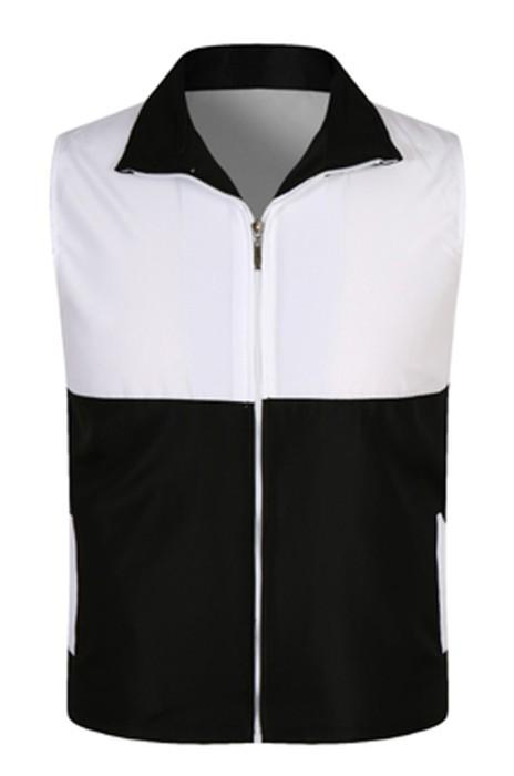 SKV004 訂購志願者馬甲  定制廣告馬甲  設計多色拼色宣傳背心  義工超市工作服  背心外套製造商