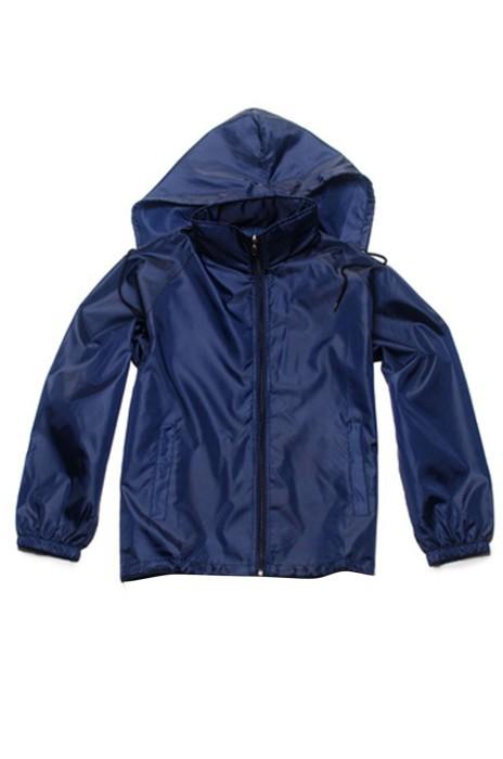 SKJ007   設計連帽工作服外套 大量訂造長袖外套  戶外廣告衫輕薄防水風衣 風褸製衣廠