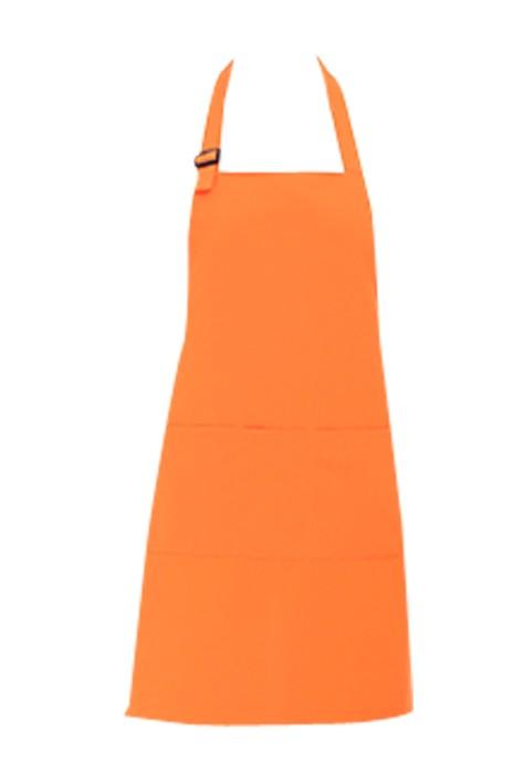 SKAP024  訂購超市廚房掛脖圍裙  製造男女士服務員工作服圍腰  台灣 供應防水印logo圍裙  圍裙製造商