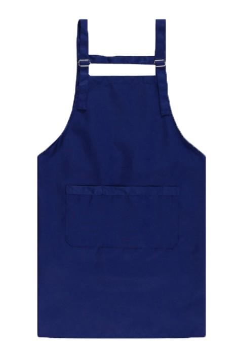 SKAP032  荷葉式防水圍裙 可調節金屬扣雙肩清潔圍裙  超市促銷美發美甲圍裙 全棉圍裙