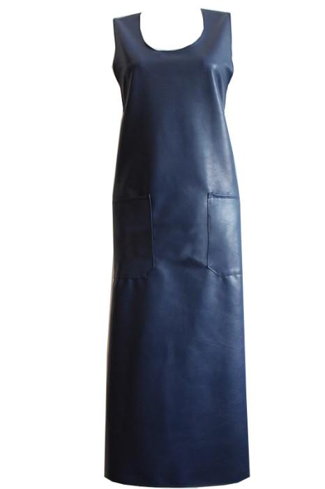 SKAP035 防水防油PU圍裙  背心式餐廳純色圍裙 漁檔圍裙 魚市場圍裙 濕貨圍裙