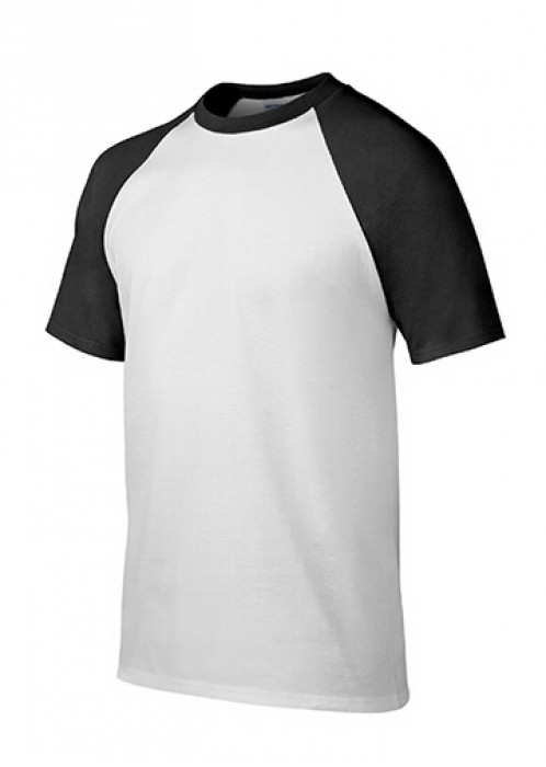 Gildan 白色/黑色FB030短袖男装T恤 76500 顯瘦彈力T恤 T恤批發  T恤供應商 T恤價格