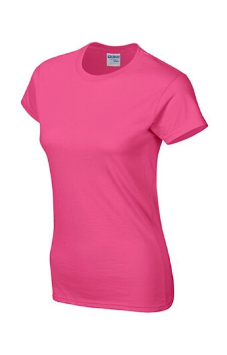 Gildan 海利康花色 010 短袖女圓領T恤 76000L T恤速印 女圓領T恤訂製 買T恤 T恤價格