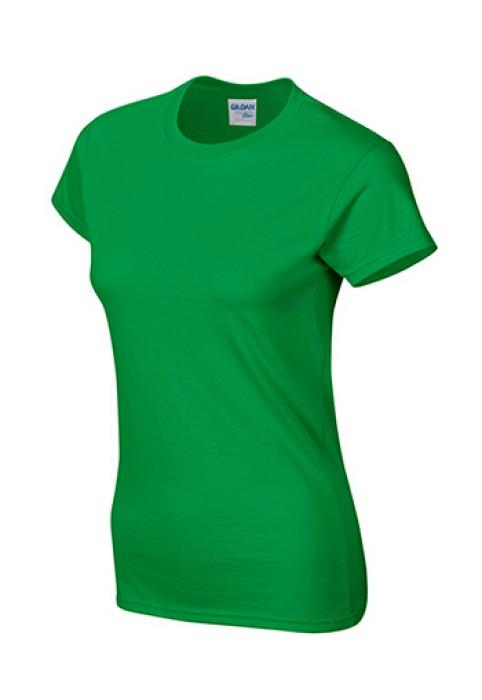 Gildan 愛爾蘭綠色 167 短袖女圓領T恤 76000L 女圓領tee T恤批發 女T恤印字 T恤價格