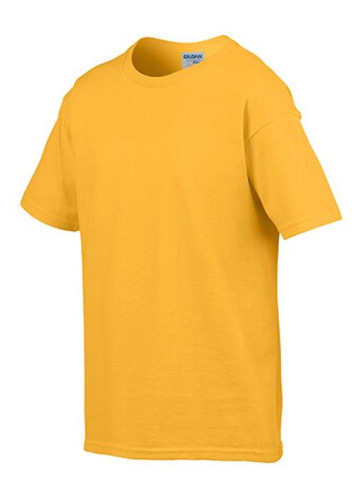 Gildan 金色 024 短袖兒童圓領T恤 76000B 童裝T恤印字 活動T恤訂製 速印T恤 T恤價格