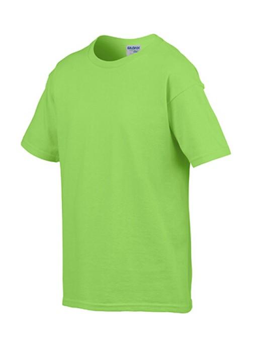 Gildan 淺綠色012 短袖兒童圓領T恤 76000B 純色T恤訂製 童裝T恤批發 現貨童裝T恤 T恤價格