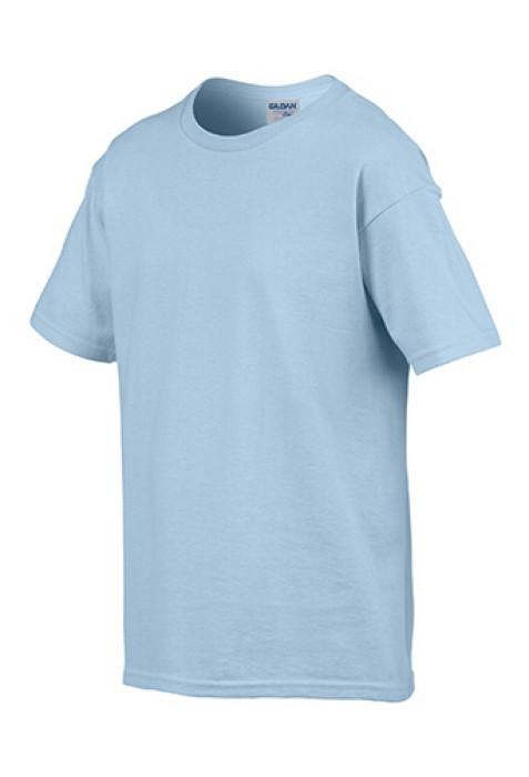 Gildan 淺藍色 069 短袖兒童圓領T恤 76000B 童裝T恤訂製 純色童裝T恤 印字童裝 T恤價格