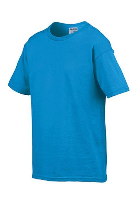 Gildan 彩藍色 026 短袖兒童圓領T恤 76000B 童裝T恤印圖案 速印童裝T恤 活動童裝訂製 T恤價格