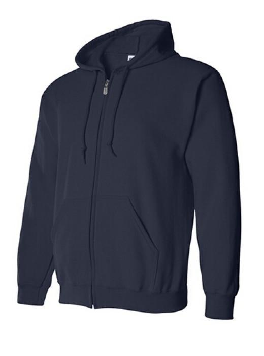 Gildan 寶藍色 032 拉鏈衛衣 88600 字 速印拉鏈外套 純色拉鏈外套批發 訂製拉鏈外套 衛衣價格