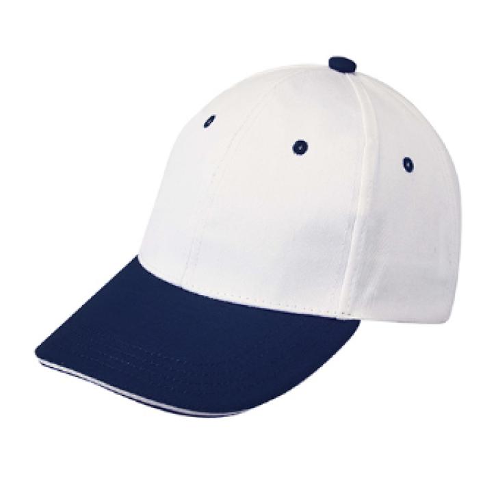 1LE03 寶藍色099拼色棒球帽   度身訂製棒球帽  棒球帽製造商 帽價格 棒球帽價格