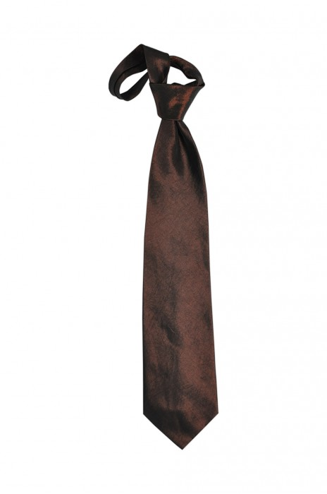 TI105 咖啡色領呔   供應訂購領呔  領呔專門店 領呔價格
