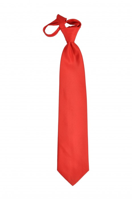 TI109 橙色領呔   來樣訂做領呔  領呔生產商  領呔價格