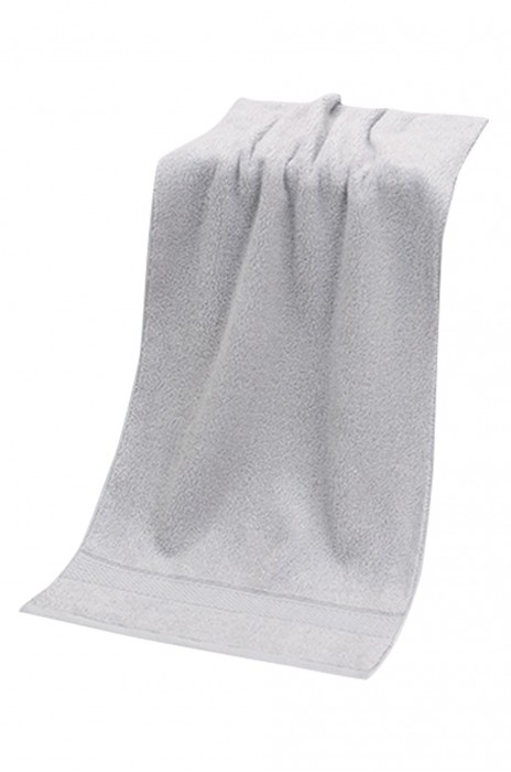 SKTW036 純棉毛巾無熒光劑 素色緞檔面巾 精梳長絨棉毛巾 家用毛巾 72*33cm
