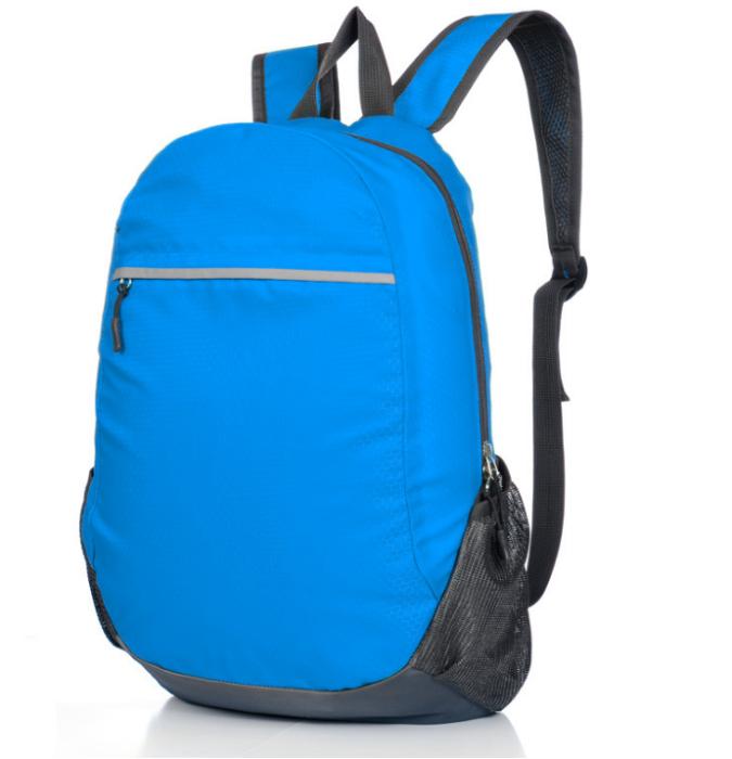 RXZDBB002  多色折疊式背囊   供應訂購折疊式背囊  折疊式背囊製衣廠  防水尼龍  200G  背囊價格