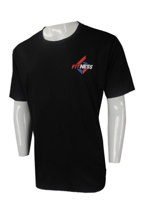 T855 網上下單團體運動T恤 大量訂做運動T恤款式 香港 泰拳健身俱樂部運動T恤專營店