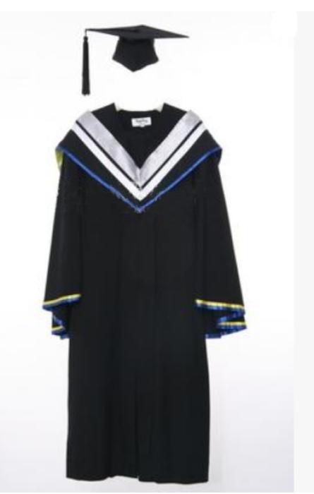 SKDA004  訂造澳門大學碩士服   製作學士服博士服  網上下單學士服  學士服製造商  學士服價錢