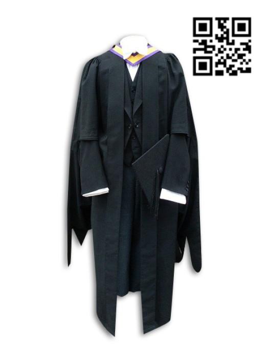 SKDA007 設計英國大學的碩士服   訂購畢業禮服  大學教職員禮袍 來樣訂造畢業袍 畢業袍製衣廠  畢業袍價格