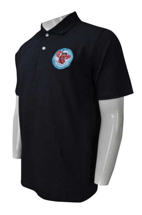 P929 度身訂做男裝短袖Polo恤 大量訂購男裝短袖Polo恤 電燈 行業 電器 制服 Polo恤專營店