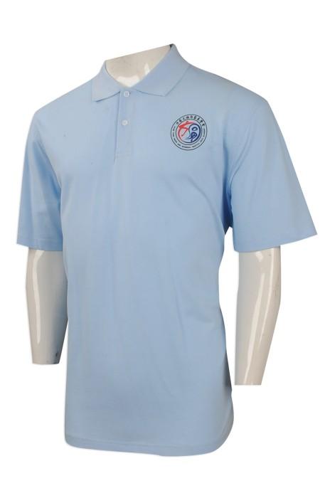 P934 來樣訂做男裝短袖[POLO恤 團體訂購男裝短袖POLO恤  太極拳會 男裝POLO恤專營店