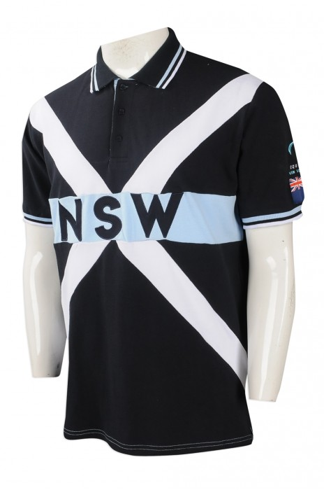 P952 大量訂做男裝短袖POLO恤 設計男裝POLO恤 澳洲 TFS 訂造POLO恤專營店