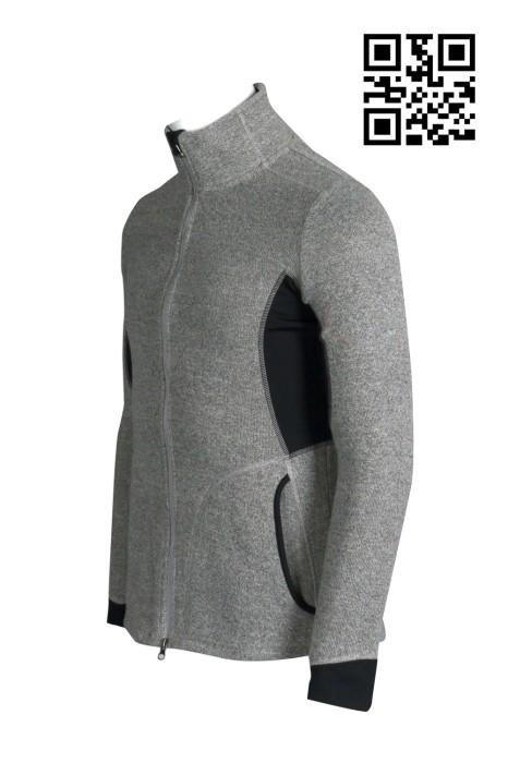 W186設計吸濕排汗男士運動衫  長袖貼身 緊身 秋冬 供應透氣修身運動衫  訂購時尚運動衫 功能性運動衫中心