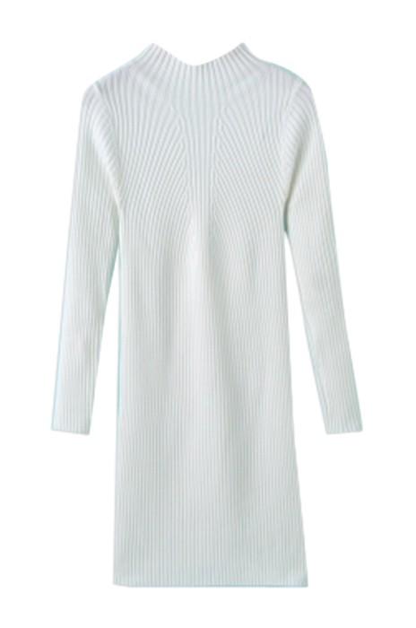 SKSW012 訂購女中長款套頭針織衫  供應厚半高領長袖修身打底毛衫裙 毛衣連衣裙